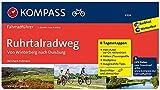 Ruhrtalradweg, von Winterberg nach Duisburg: Fahrradführer mit 6 Tagesetappen und Routenkarten im optimalen Maßstab. (KOMPASS-Fahrradführer, Band 6304)