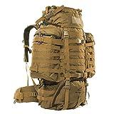 WiSPORT® RACCOON 85 Rucksack | 85 Liter | Militär | Cordura | MOLLE | Marschrucksack | Outdoor | Camping, Tarnung:coyote brown