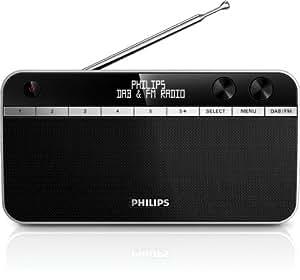 Philips AE5250/12 Radio Portatile DAB+, Display LCD Retroilluminato