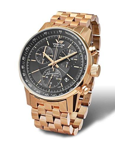 Vostok Europe GAZ 14Grand Chrono 5659175-B Reloj de hombre