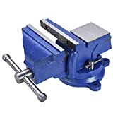 Best Bench Vises - Ybaymy 3/4/5 Inch 360°Swivel Vise Clamp Table Vice Review
