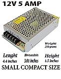 #9: NIRMALS 12V 5amp 60 Watts DC SMPS POWER SUPPLY For LED Strip Light, CAMERAS 12v 5A (12v 5amp)