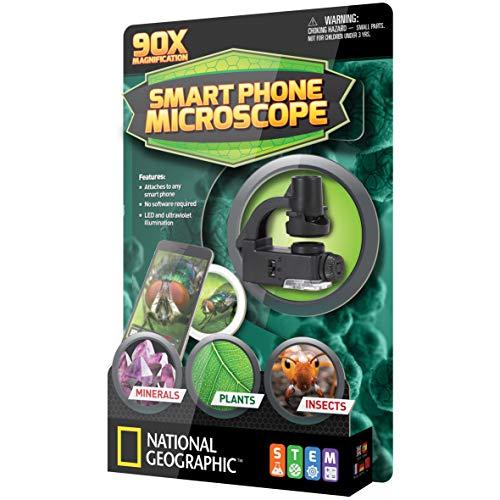 National Geographic 81299 Mikroskop für Smartphones