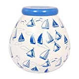 mit nautischem Boote Pot Of Dreams Spardose Pot