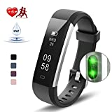 Kungber Fitness Tracker, Slim Activity Tracker Watch with Heart Rate Monitor, IP 67