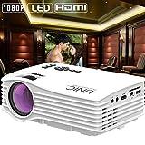 KAIDILA Projektor, Mini Projektor Max 130 Zoll HD Portable LED-Projektor mit HDMI USB-Beamer Heimkino Beame UC36 frei Shippi NG