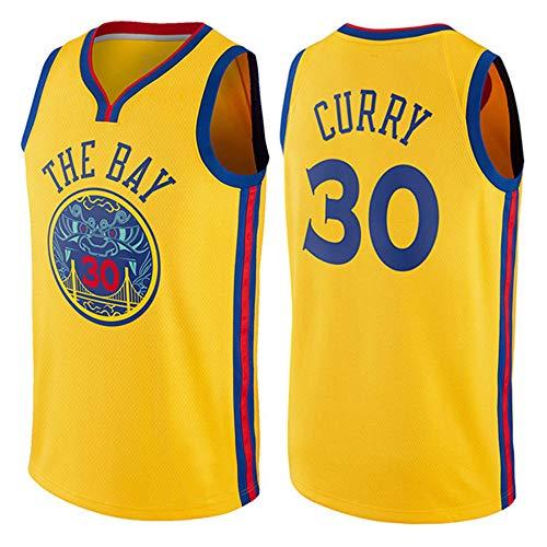 Herren Basketball Trikot NBA Warriors 30 Curry Jersey Herren Basketball Anzug