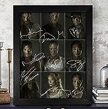 The Walking Dead signé autographe Photo 8x 10RP d