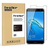 Huawei Nova Plus Protection écran, VGUARD Film Protection d'écran en Verre Trempé Glass Screen Protector Vitre Tempered pour Huawei Nova Plus - Dureté 9H, Ultra-mince 0.20 mm, 2.5D Bords Arrondis- Anti-rayure, Anti-traces de doigts,Haute-réponse, Haute