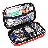 KIMISS Portable Emergency Aid Kit Kit di Emergenza per Auto, casa, Viaggi, Campeggio, Ufficio o Sport, Cassetta degli Attrezzi per Il Trattamento di Sopravvivenza di Emergenza