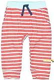 loud + proud Unisex Baby Hose Ringel, aus Bio Baumwolle, GOTS zertiziziert, Rot (Cayenne Cay), 56 (Herstellergröße: 50/56)