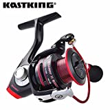 11, 4000 Series: Kastking Sharky II Series Carrete Giratorio a Prueba de Agua para Pesca en el mar 11bbs MAX Drag 19 Kg. Agua Salada Pesca en el Hielo en Invierno