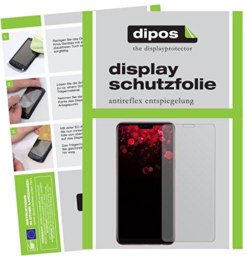 dipos I 6X Schutzfolie matt passend für Oppo F7 Folie Bildschirmschutzfolie
