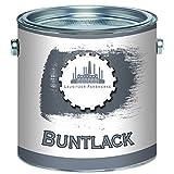 Lausitzer Farbwerke Buntlack traditionellerrobuster Kunstharzlack bunteLack-Farbeeinfache Bearbeitung, hohe Qualität,schnelltrocknend, Universal-Lack