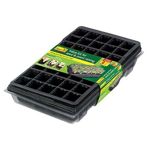 Gardman Seed & Plant Raising Valeur Kit 3 par paquet
