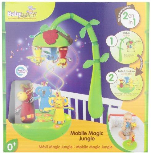 Imagen 1 de Babymoov- A104408 - Móvil con diseño de jungla 2 en 1