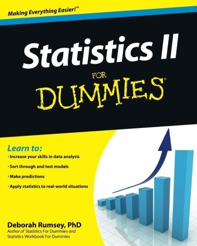 Statistics II for Dummies by Deborah J. Rumsey (2009-08-31)