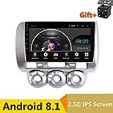 22,9cm 2.5d IPS Android 8.1lettore DVD multimediale GPS per Honda Fit Jazz 2004200520062007audio auto radio stereo navigazione