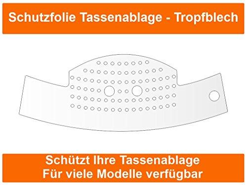 3 x Schutzfolie für Jura C5 C50 C55 C60 C65 - C Serie Impressa Tassenablage, Abtropfblech,...
