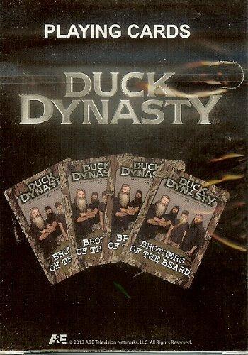 A & E Offizielles Lizenzprodukt Ente Dynastie BROTHERS DER BART Spielkarten