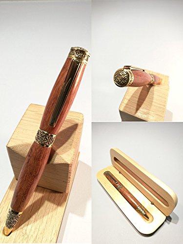 Luxus-Holzstift von Bubinga, handmade