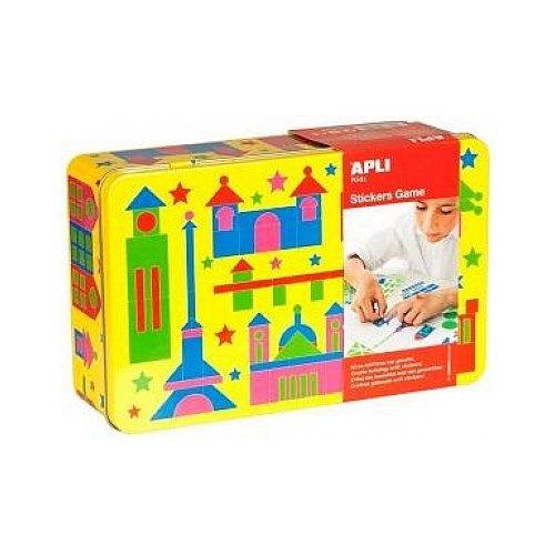 apli-apli13442-edifici-gioco-con-sticker-in-scatola-di-latta