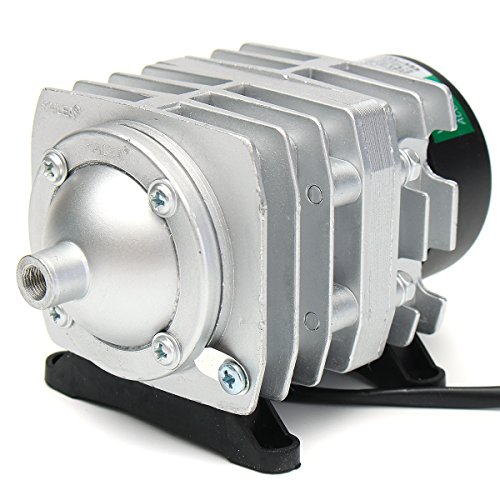 Tutoy 45L/Min 25W Elektromagnetischer Luftkompressor Aquarium Sauerstoff Teich Luft Pumpe Belüfter