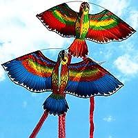 JYC Store 2019 Novelty Random New Parrots Kite Single Line Breeze Outdoor Fun Sports
