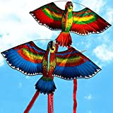 Vovotrade® Aléatoire Livraison Gratuite Nouveaux Cerfs-Volants Cerf-Volant Simple Ligne Breeze Outdoor Fun Sports Random New Parrots Kite Single (Multicolor)
