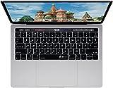 KB Covers RUS-MTB-DE RU Layout russische Tastatur Abdeckung für MacBook Pro klar