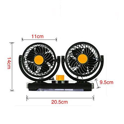 12V ventilador de coche 24V non-leaf aire acondicionado ventilador 220V HOME Mute...