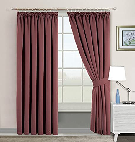 Ready Made Interwoven Thermal Super Soft Blackout Curtain with Stainless