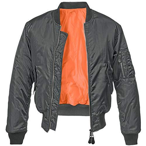 Brandit MA1 Jacke Schwarz 6XL