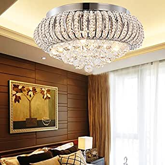 XM593539 oOFAY light ® simple et graziöse kristallleuchte 5 pièces-plafonnier cristal pour salon moderne et cristal plafonnier pour chambre à coucher -