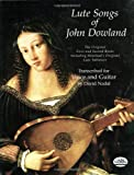 John Downland   Lute Songs   First And Second Books Gtr (Dover Song Collections)