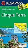 Cinque Terre: Wanderkarte mit Radtouren. GPS-genau. 1:35000: Wandelkaart 1:35 000 (KOMPASS-Wanderkarten, Band 2450)