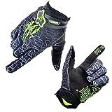 [Fahrradhandschuhe] Xiyalri Fahrrad Voll Finger warmen Radsporthandschuhe Motorrad Mountainbike Handschuhe für Herren und Damen - Größe L