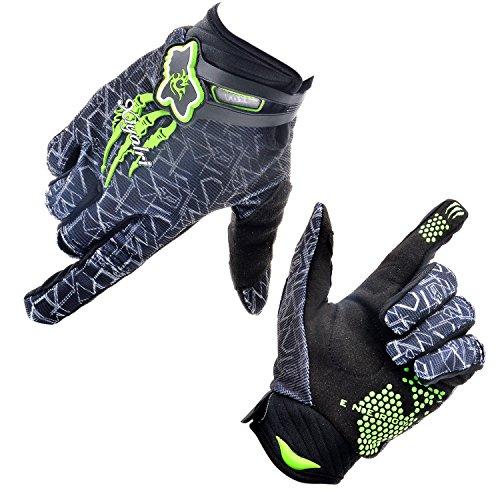 [Fahrradhandschuhe] Xiyalri Fahrrad Voll Finger warmen Radsporthandschuhe Motorrad Mountainbike Handschuhe für Herren und Damen - Größe M
