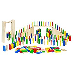 Toys Pure Wooden Domino Rally