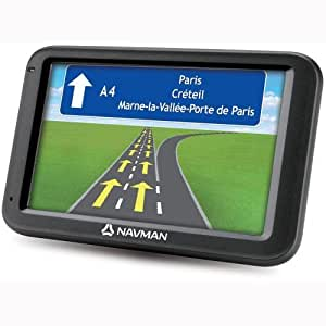 "Navman F610 EZY WIDE+ 5"" Satellite Navigation GPS System UK & Ireland Mapping Satnav 3D Lane Guidence"