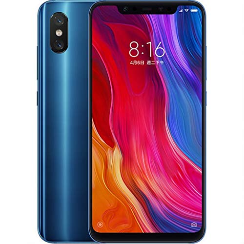 Xiaomi Mi 8 Dual LTE 128GB 8GB RAM Blue (Global Version) with Warranty