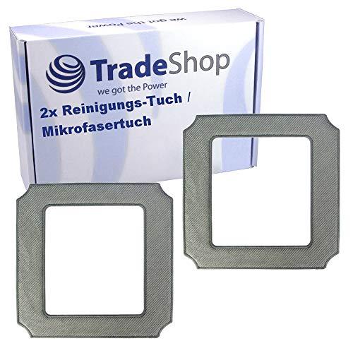 2x Hochwertiges Reinigungs-Tuch/Mikrofasertuch/Wischtuch waschbar für Ecovacs Winbot W-850 W-855 W850 W855