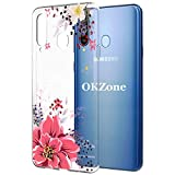 OKZone Galaxy A8s Case, [Flowers Pattern Design] Colorful