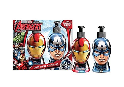 Avengers - Marvel Rival Helden Toilettartikel Set, 1er Pack (1 x 12 Stück)