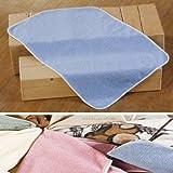KD-BL Kinderdecke Kuscheldecke Babydecke Wolldecke - Blue - 90 x 135 cm aus 100% Merino Schurwolle