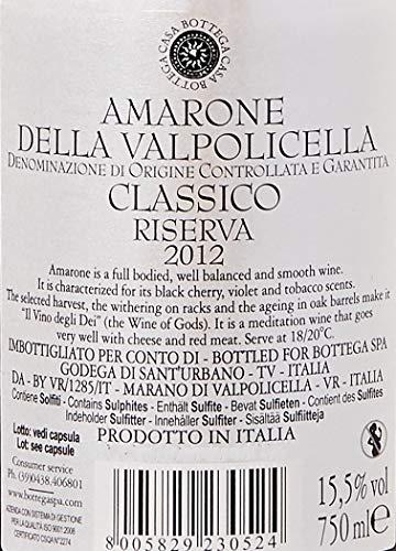 Bottega Pret a Porter Amarone Docg - 750 ml