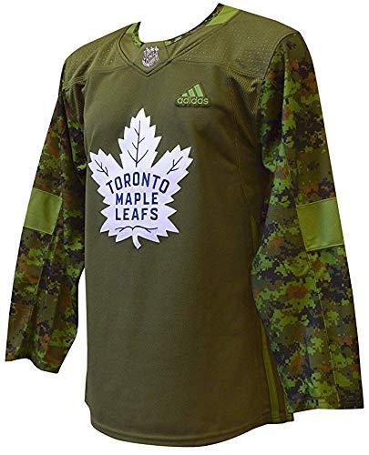adidas Toronto Maple Leafs NHL Veterans Day Jersey (M/50)