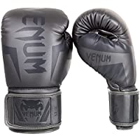 Venum Elite Boxing Gloves , Grey / Grey, 14 oz