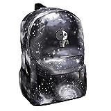 BTS Bangtanboys Sternhimmel Kinderrucksack Schultasche für Baby Jungen Mädchen Kleinkinder Nylon Backpack Daypack für Schule Arbeit VAN Grau