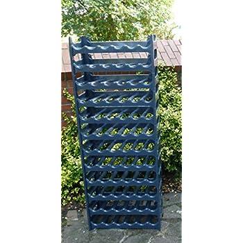 Pure Home & Garden Weinregal für 36 Flaschen grau anthrazit ...